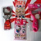 Sanrio HELLO KITTY 4 Pcs Gift Set for Christmas birthday kid girl women A