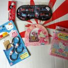 Sanrio HELLO KITTY 4 Pcs Gift Set for Christmas birthday kid girl women E