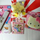 Sanrio HELLO KITTY 4 Pcs Gift Set for Christmas birthday kid girl women H