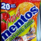Mentos Assorted Fruit Mini Rolls Packet 200g Candy sweet