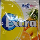 Wrigley`s Extra Zylitol Tropical Fruit flavor Menthol Sugar-free Gum x 2 Packets Mint Gums