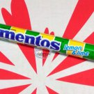 2 Rolls Mentos Lemon & Lime Flavor Chewy Dragees Candy sweet snacks candies kids ladies