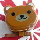 Japan 2-tiered Bento Lunchbox Belt Bear Shaped lunch box set ladies kids