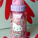Sanrio HELLO KITTY Water Bottle with straw drink Container 350ml Q17
