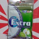 Wrigley`s Extra Apple Lime flavor Menthol Sugar-free Gum x 2 Packets Mint Gums
