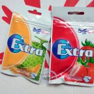 Wrigley`s Extra Xylitol Melon + Strawberry flavor Sugar-free Gum x 2 Packets Mint Gums