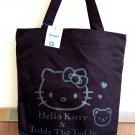 Sanrio Hello Kitty CANVAS TOTE BAG Shoulder Handbag Weekend School BAGs