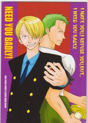 One Piece Shounen ai doujinshi