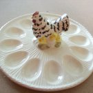 VINTAGE HEN AND CHICKEN EGG TRAY