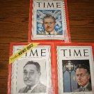 TIME MAGAZINES RAYMOND LOEWY,JUDGE MEDINA ,ROBERT HUTCHINS