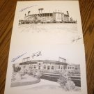 BALTIMORE MEMORIAL STADIUM AND ORIOLE PARK AT CAMDEN YARDS SIGNED PRINTS