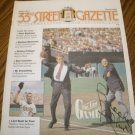 BROOKS ROBINSON SIGNED 33RD STREET GAZETTE