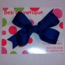 Royal Blue Medium Boutique Bow