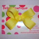 Light Yellow Medium Boutique Bow