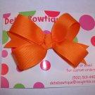 Orange Medium Boutique Bow
