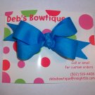 Island Blue Medium Boutique Bow