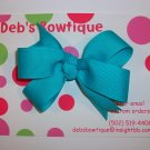 Turquoise Medium Boutique Bow
