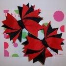 Red & Black Pigtail Set