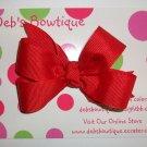 Red Medium Boutique Bow