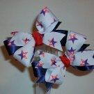 Star Flag Pigtail Set