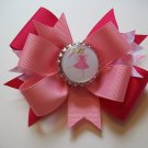 Pinkalicious Bottle Cap Bow