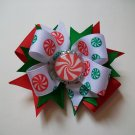 Christmas Candy Bottle Cap Bow