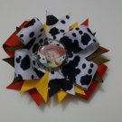 Toy Story Jessie Bottle Cap Bow