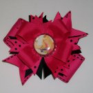 Hannah Montana Pink Bottle Cap Bow