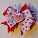 Valentine's Day Bottle Cap Bow