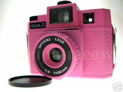 Sales - HOLGA 120 GCFN  - Pink Colour - **FREE Shipping