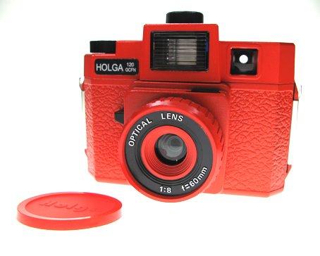 Sales - HOLGA 120 GCFN - Red Colour ** FREE Shipping