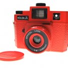 Sales - HOLGA 120 GCFN - Red Colour ** FREE Shipping