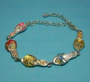 Flip Flop Ankle Bracelet.  Visit Our Store twodotts.ecrater.com