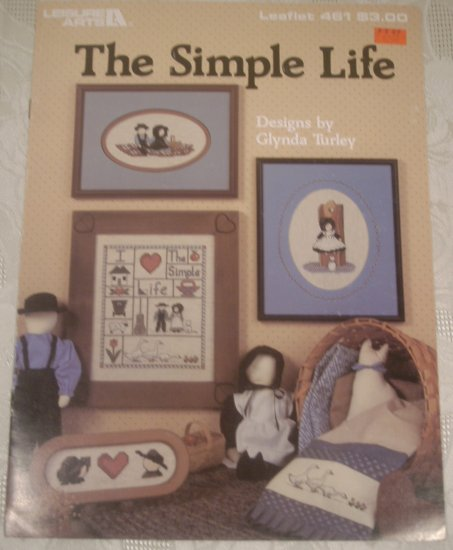 LEISURE ARTS THE SIMPLE LIFE CROSS STITCH LEAFLET #461 *SHIPS FREE*