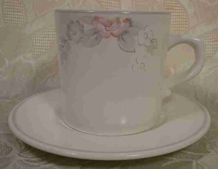 PFALTZGRAFF WYNDHAM CUPS & SAUCERS - 4 SETS