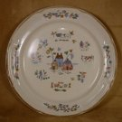 INTERNATIONAL CHINA HEARTLAND ROUND PLATTER CHOP PLATE