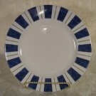 PFALTZGRAFF CHOICES WYNGATE STRIPED DESSERT PLATES SET OF 2