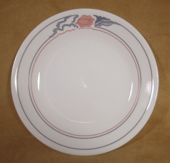 CORELLE ROSE DUO DESSERT PLATES SET OF 4