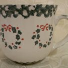 TIENSHAN FOLK CRAFT HOLIDAY PINES MUG