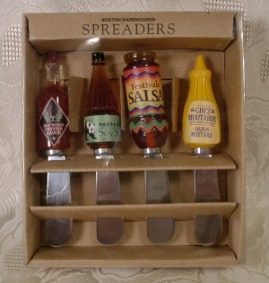 BOSTON WAREHOUSE SPREADERS HOT PEPPER - SALSA + *NIB* *SHIPS FREE*