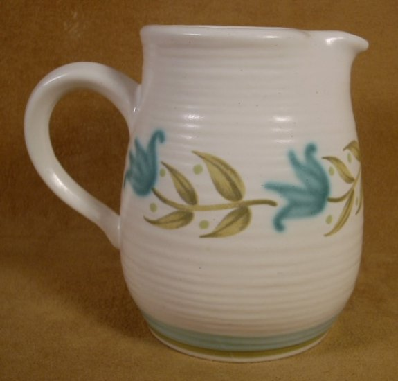 VINTAGE FRANCISCAN TULIP TIME CREAM OR SYRUP PITCHER
