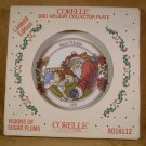 CORELLE 1991 VISIONS OF SUGAR PLUMS  DINNER PLATE *NIB*