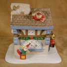 PARTYLITE SANTA'S WORKSHOP TEALIGHT HOUSE *MIB*
