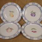 PFALTZGRAFF HOPSCOTCH SET OF 4 SALAD PLATES