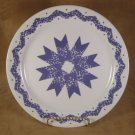 CORELLE RARE BLUE STAR DINNER PLATE