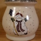 HOME & GARDEN PARTY SNOWMAN TART WARMER 2001 U.S.A.
