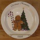 HOME & GARDEN PARTY 1998 CHRISTMAS MEMORIES PLATE *MIB*
