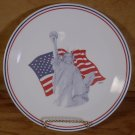 CORELLE COLLECTIBLE STATUE OF LIBERTY DINNER PLATE 1991