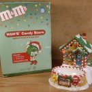 DEPT. 56 M&M'S CANDY STORE LIGHTED HOUSE & CANDY DISH
