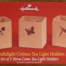 HALLMARK CANDLELIGHT CRITTERS TEA LIGHT HOLDERS *NIB*